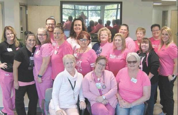 Pink Out Day held at Hillcrest Henryetta