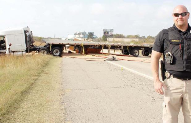 Unsafe speed causes wreck