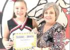 Schulter Students of the Month named